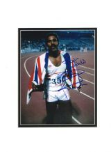 Daley Thompson Autograph Signed Photo - Athletics